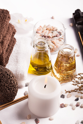 Thai massage with aromatic oils