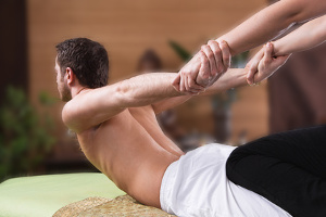Thai classical massage